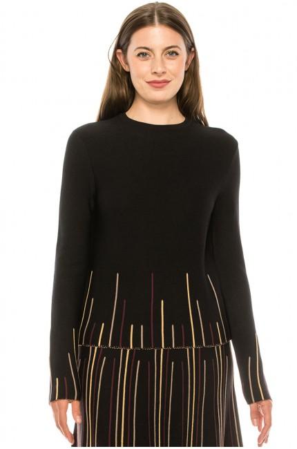 Sweater KA-106 Black