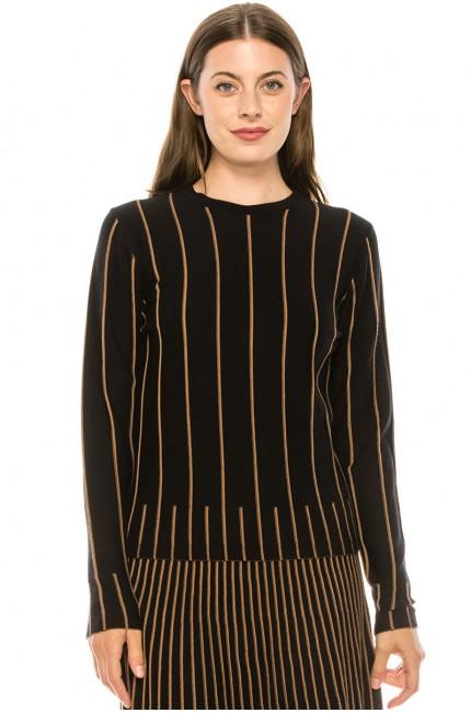 Sweater KA138-Brown