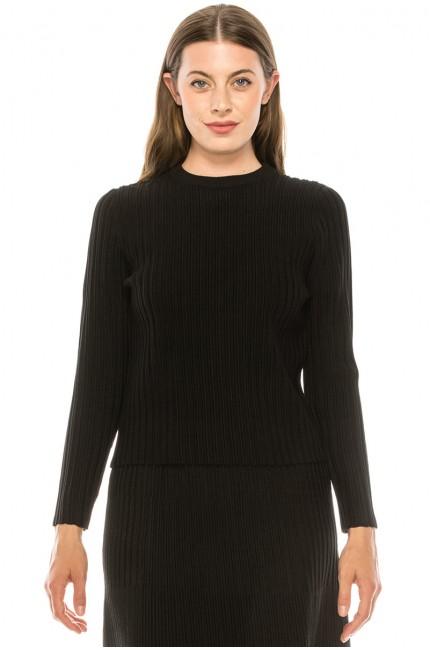 Sweater KA140-Black