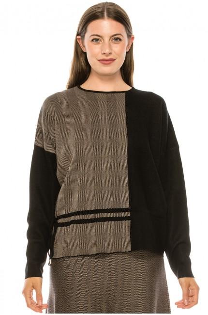 Sweater KA141-Black