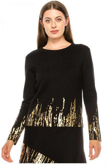 Sweater KA143-Gold
