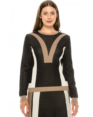 Sweater KA146-Black