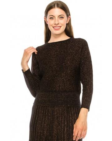 Sweater KA147-Burg