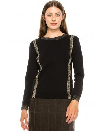 Sweater KA153-Black
