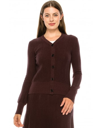Sweater KA155-Burg