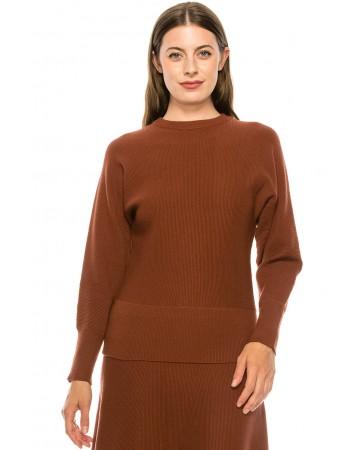 Sweater KA157-Rust