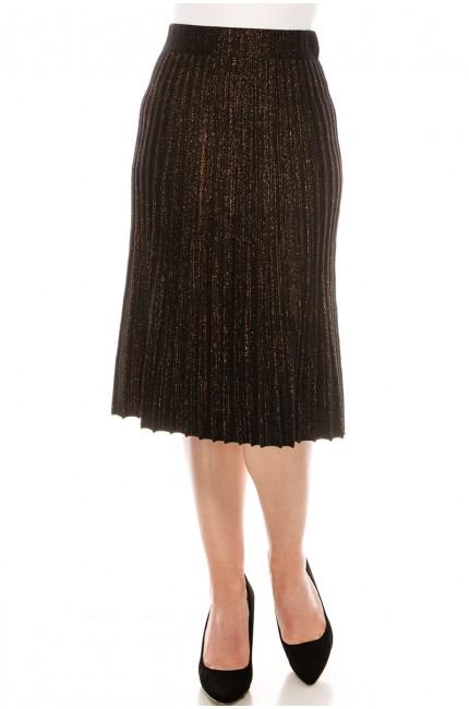 Burgundy Glitter Skirt