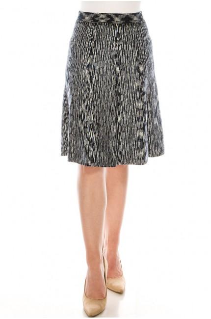 Trendy Blue Skirt