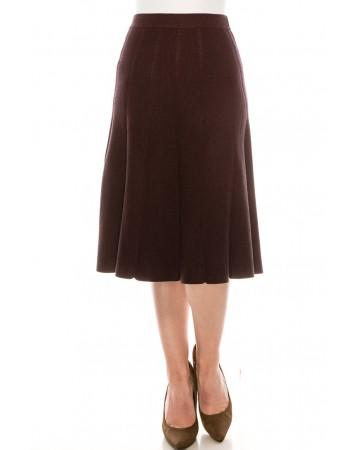 Skirt SKA155-Burg