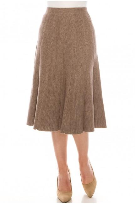 Skirt SKA155-Taupe