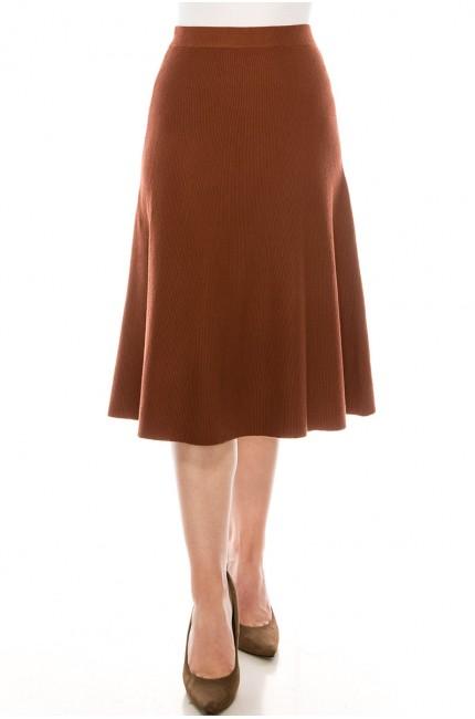 Skirt SKA157-Rust