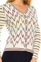 Colored Peaks Cardigan