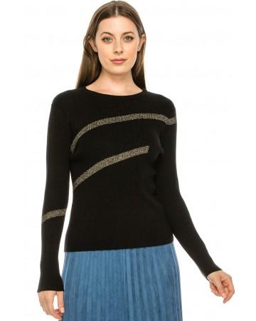 Horizontal Striped Sweater