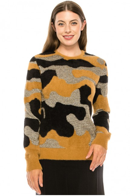 Is It Camo Sweater