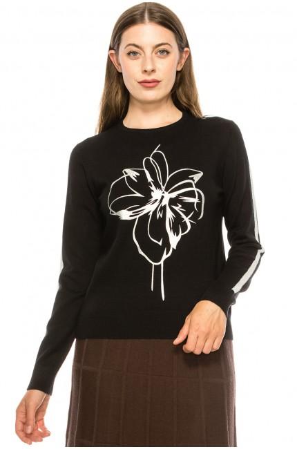Drawn Flower Shirt