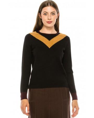 "The ""V-Neck"" Sweater"