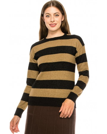 Black and Gold Sweater