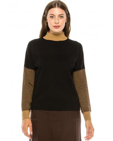 Neutral Drop Sleeve Sweater