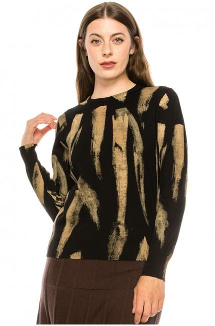 Paint Stroke Sweater