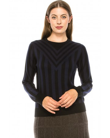 Black and Navy Sweater