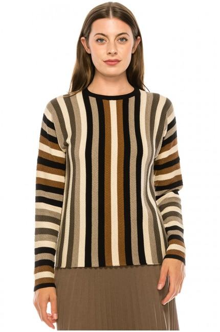 Cozy Striped Sweater
