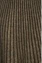 Lurex Striped Gold Skirt